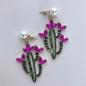 Jewelry - Cactus Statement Earrings